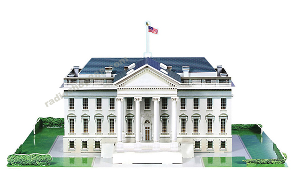 Puzzle 3d White House United State 1130604 Ebay