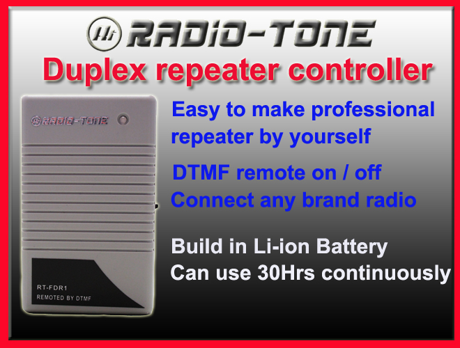 TK-8100 RJ-45 Radio-Tone Duplex repeater controller for Kenwood Mobile TK-7100