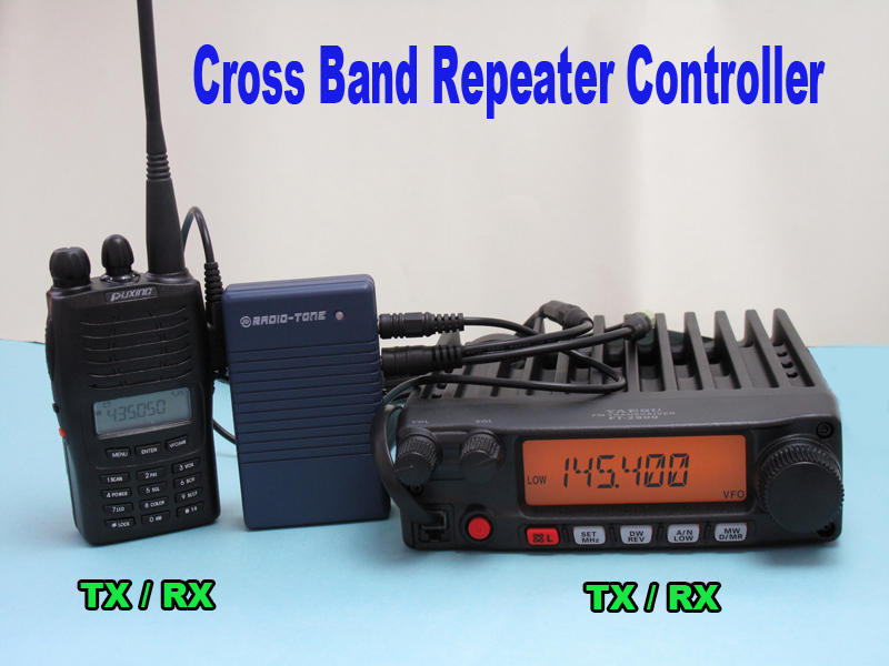 Details about Cross Band Full Duplex Repeater Controller for all Band & all  Type Radio